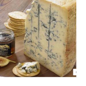 Stilton (Reino Unido): Leche pasteurizada de vaca - Sabor intenso no muy picante y ligeramente ácido - Pasta semiblanda y desmeduzada - Maridaje con todo tipo de vinos - Cuajo natural