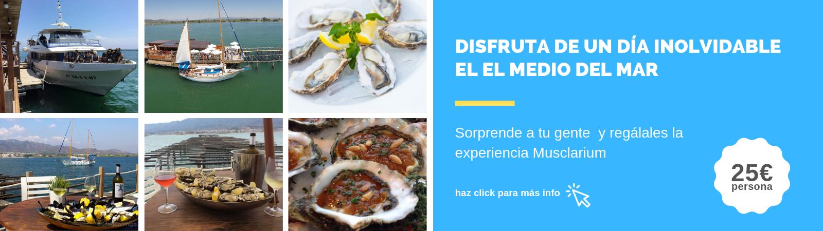 Musclarium. Experiencia Delta del Ebro. Comprar online